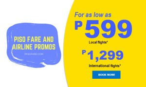 Promos of Cebu Pacific That Includes December 2017, January, February, March 2018