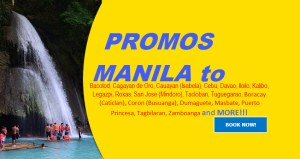 Promo Fares Manila to Gensan, Davao, Bohol, Pagadian, and Many More Destinations