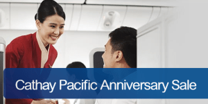 Cathay Pacific Anniversary Seat Sale Promo