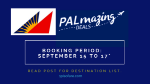 Philippine Airlines Promo Fare 2017 to 2018: Domestic and International Sale