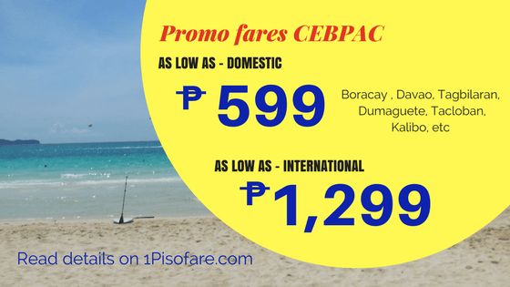 Promo fares are subject to availability – it means that promo seats are LIMITED. If your desired destination and dates is not available, the website will show you the next lowest fare price or you might want to check other dates/destinations.