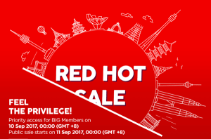 [NEW] RED HOT SALE OF AIR ASIA!