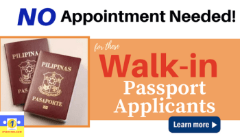 How to Set-Up Passport Appointment Date in DFA | 1PISO FARE
