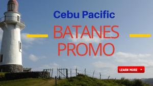 Cebu Pacific Promo Fare to BATANES