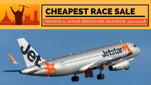 2018 Jetstar Cheapest Race Sale – Book Promo Tickets Now!