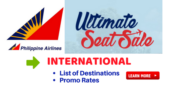 philippine airlines international ultimate sale 2018