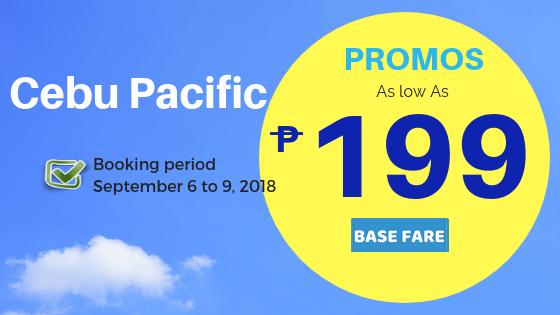 cebu pacific promos as low as 199