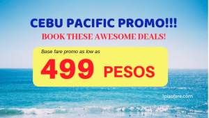 499 promo cebu pacific for 2019