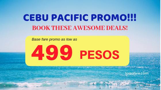 499 promo cebu pacific for 2019
