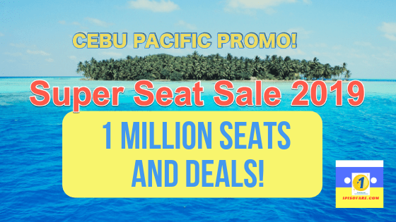 1 MILLION SEATS AND DEALS