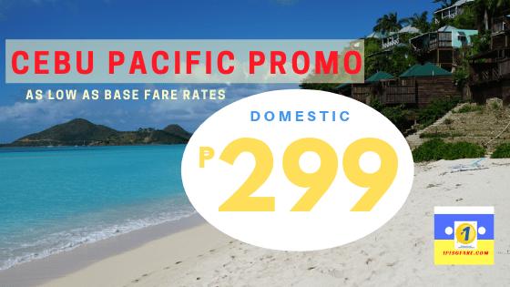 299 base fare promo 2019