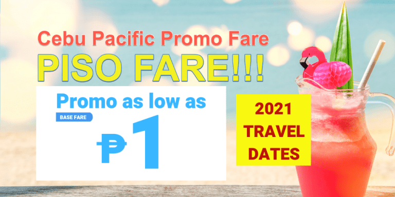 cebu pacific piso fare 2021