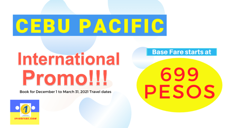 cebu pacific promo january february march april