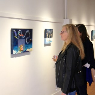 First exhibit in the new space