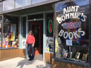 Aunt Bonnies Books has lots more than new and used books.