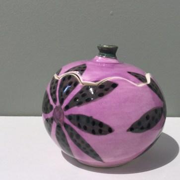 Gregg Edelen Lavendar Covered Jar