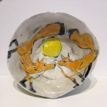 Trudy Skari Two Foxes Bowl