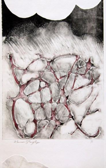 monoprint by Maureen Shaughnessy