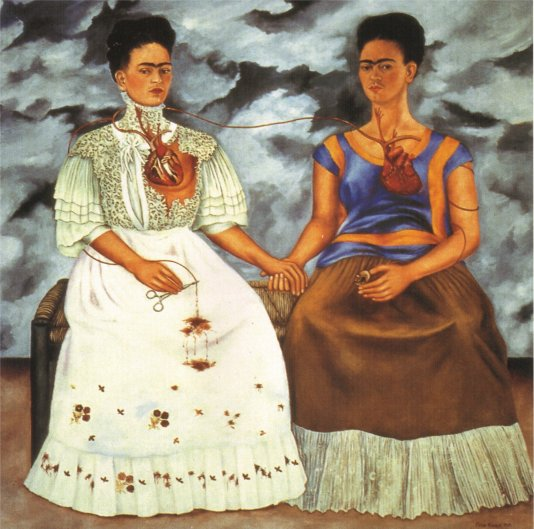 One of Frida Kahlo's many self portraits