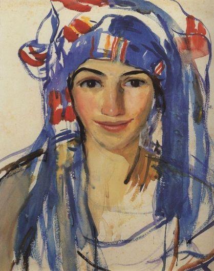 Self Portrait by Zinaida Serebriank