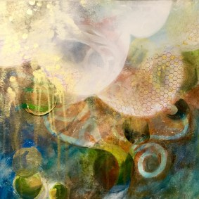 Intuitive Painting by Maureen Shaughnessy