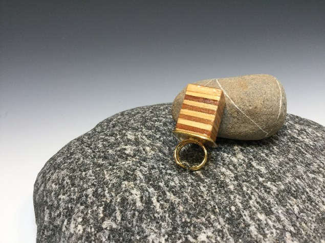 """""""Plywood"""" - fabulously Hip Ring by Paul Guillemette"""