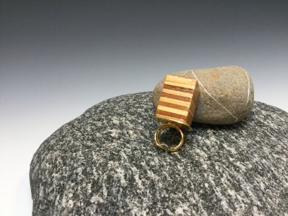 """Plywood"" - fabulously Hip Ring by Paul Guillemette"