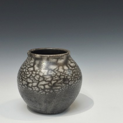Naked Raku Vessel by Gregg Edelen
