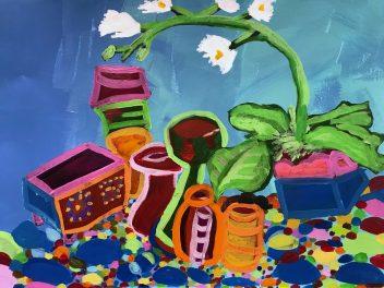 Rachel Painting Still Life