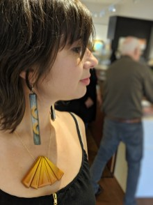 Andrea was one of our fabulous jewelry models for the opening