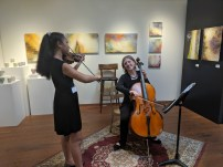 Live music at our openings