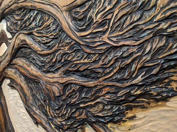 Wood Relief Carving by Dan McArdle