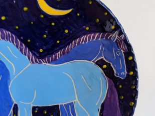 BH_two Horse Plate Detail