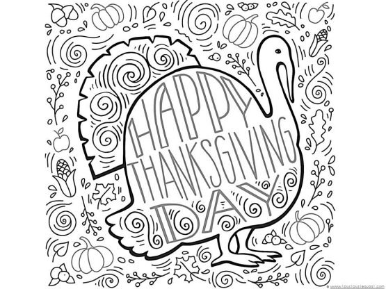 thanksgiving coloring pages # 16