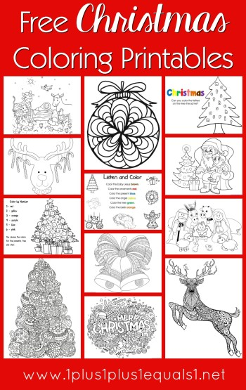 printable holiday coloring pages # 51