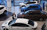 В России выросли цены на автомобили