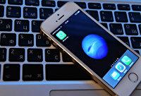 Иконка мессенджера WhatsApp на экране смартфона.