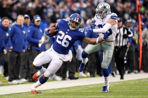 New York Giants News: Saquon Barkley Talks About Ankle Injury | Get More Sports