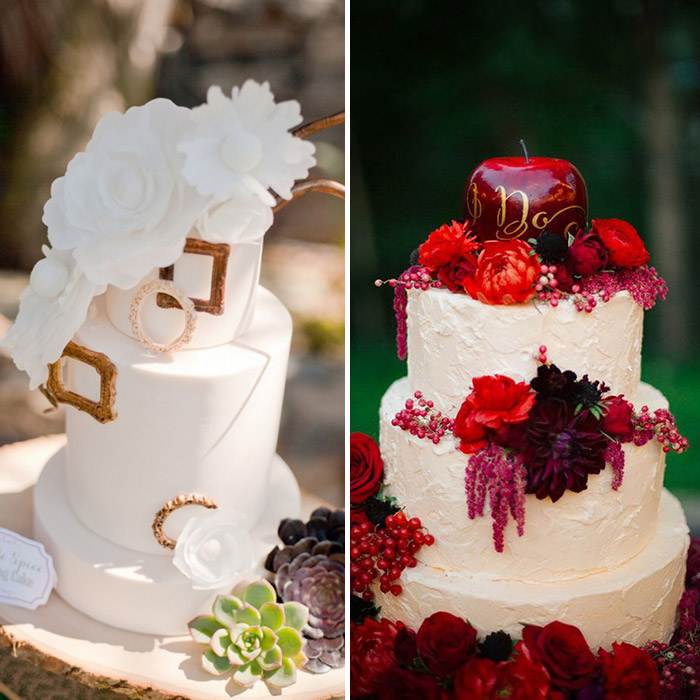 12 Disney-Inspired Wedding Cakes That Will Make You The Happiest Person On Earth