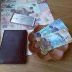 余った外貨の紙幣やコインは、インテリアにして飾っちゃおう!!