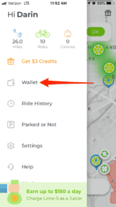How To Get Your Lime Wallet