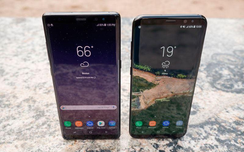 Performance Samsung Galaxy Note 8 vs Samsung Galaxy S8 +