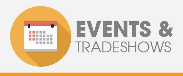 Events & Trade shows