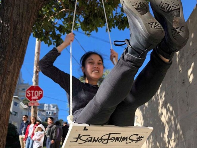 Awesome Alert: 50 Swings Installed Around S.F. - February 19, 2018 - SF Weekly