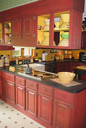 Farmington Cabinet Refinishing This Kitchen