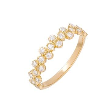 AHKAHのお花モチーフの婚約指輪(エンゲージリング)🌷松本市