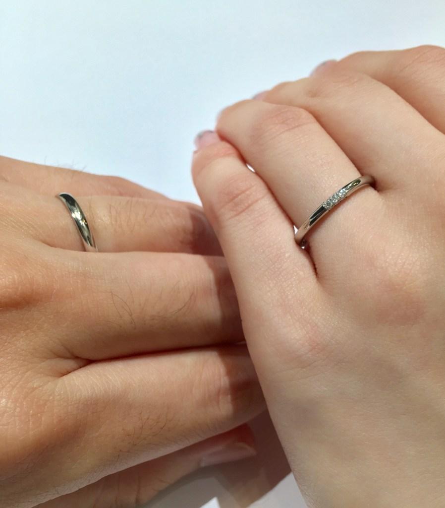 ストレート 結婚指輪 新潟