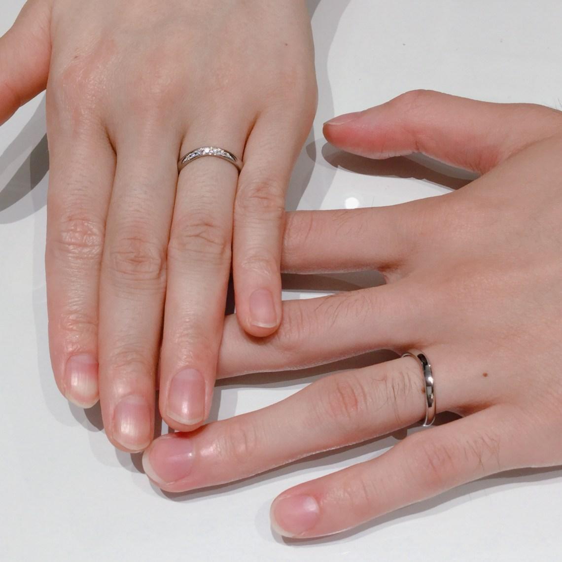 お客様の声 結婚指輪 新潟
