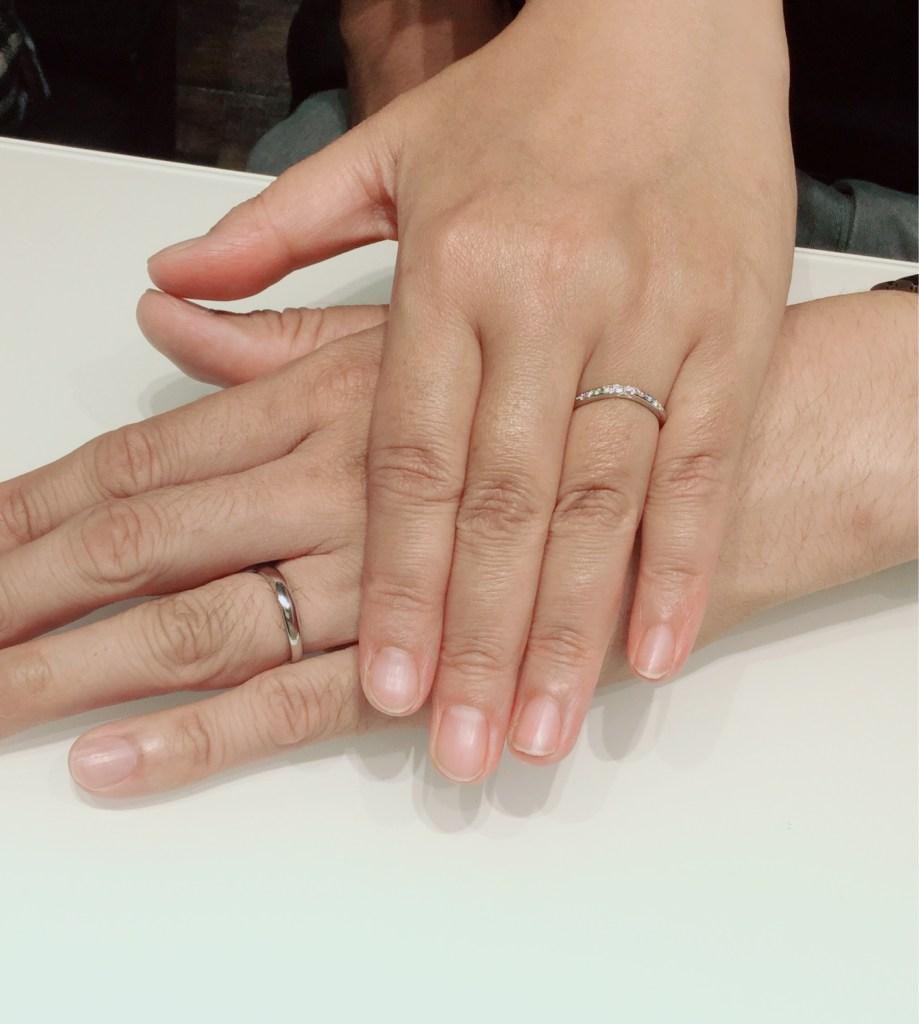睡蓮の結婚指輪