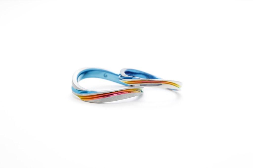 SORAの結婚指輪「モンスーン」